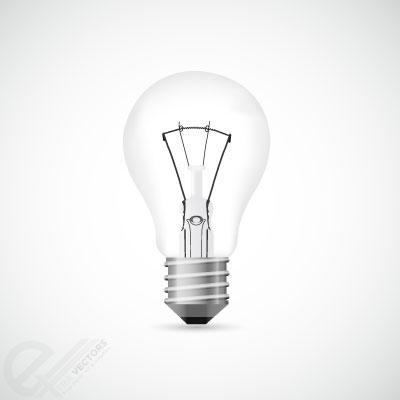 400x400 Light Bulb Vector Illustration Free Vectors
