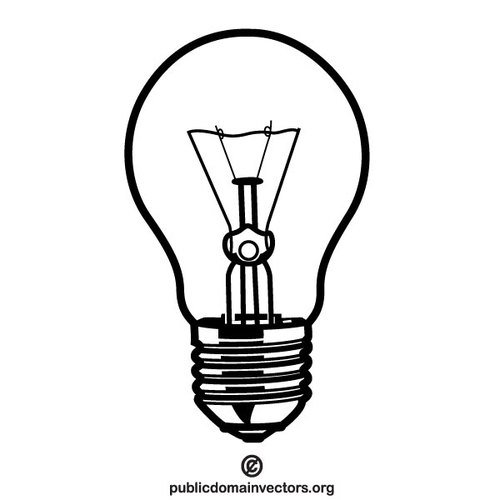 Light Bulb Vector Illustrator