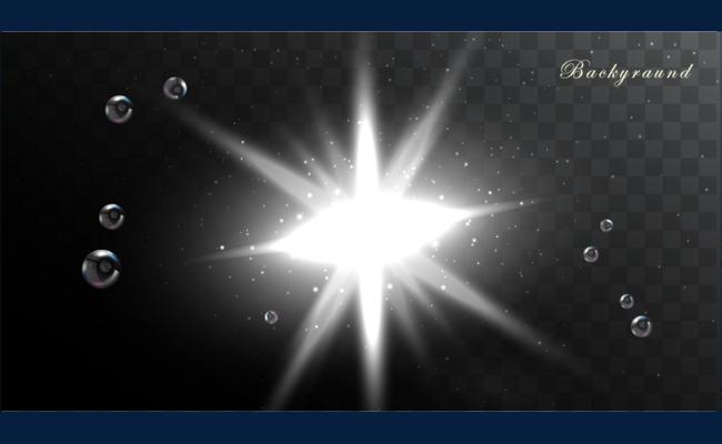 650x400 Shine Light Effect Vector, Shine Vector, Light Vector, Red Light