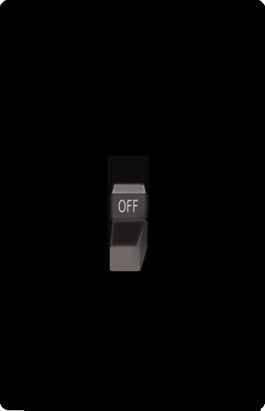 384x595 Light Switch Clip Art Free Vector 4vector