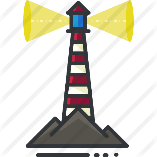 Lighthouse Vector Free
