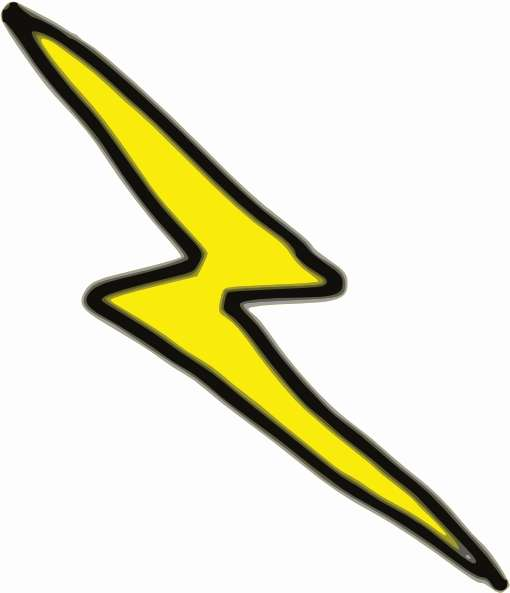 510x593 How To Draw A Lightning Bolt New Lighting Bolt Drawing At