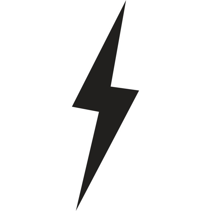 728x728 Vector Lighting Bolt. Great Lightning Bolt Vector Icon With Vector