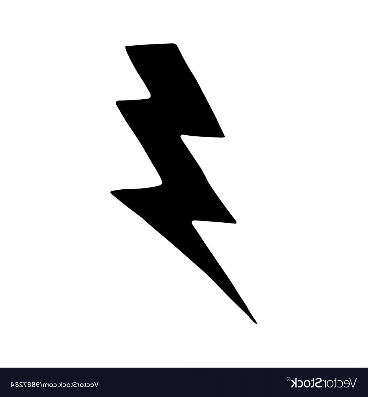 Lightning Bolt Vector at GetDrawings com | Free for personal