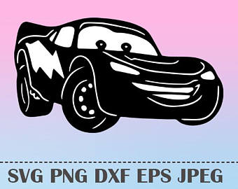 340x270 Svg Lightning Mcqueen Cars3 Vector Layered Cut File Silhouette