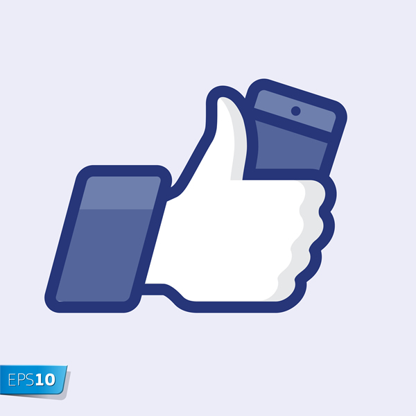 600x600 Like Button 18 Free Vector Graphic Download