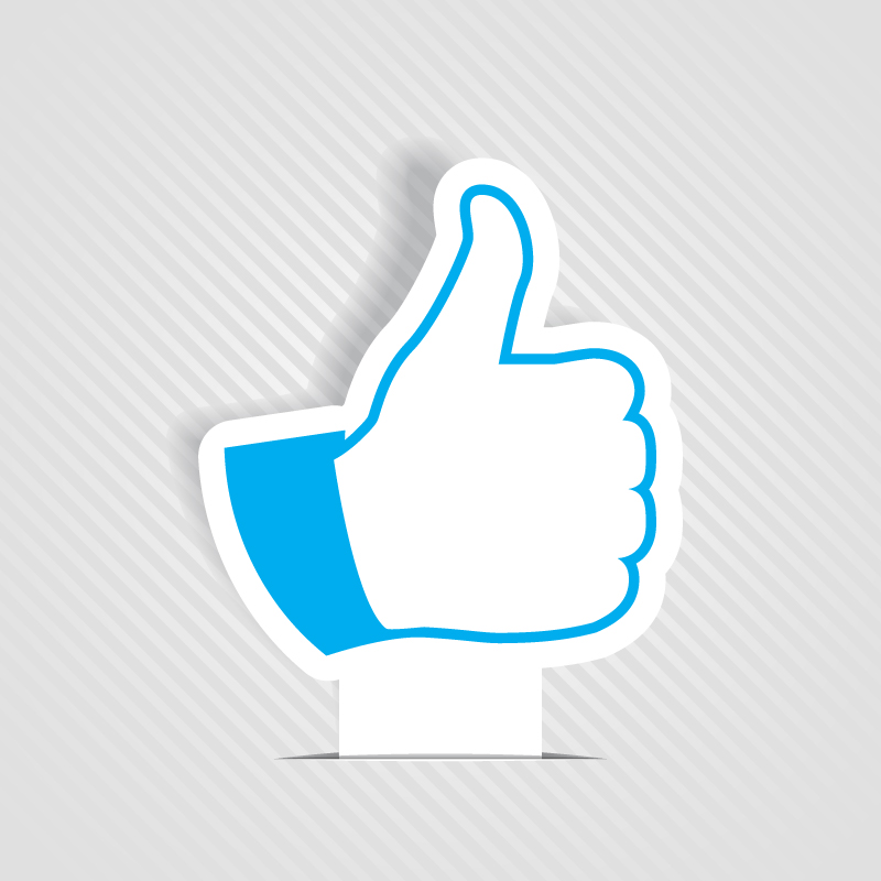 800x800 Like Button 2 Free Vector Graphic Download