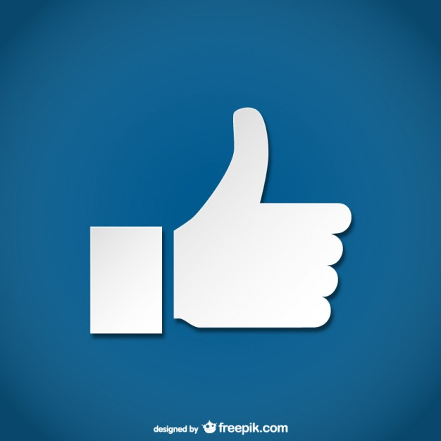 626x626 Simple Thumbs Up Icon Vector Free Download