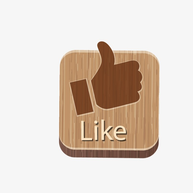 650x650 Wood Point Like Button, Wood Vector, Point Vector, Like Vector Png