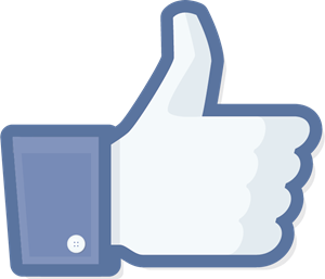 300x257 Facebook Like Icon Logo Vector (.eps) Free Download
