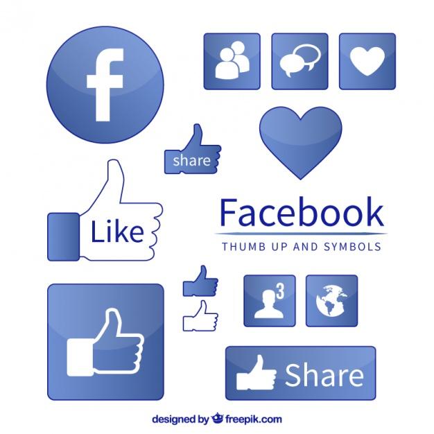 626x626 Facebook Icon Symbols Vector Free Download
