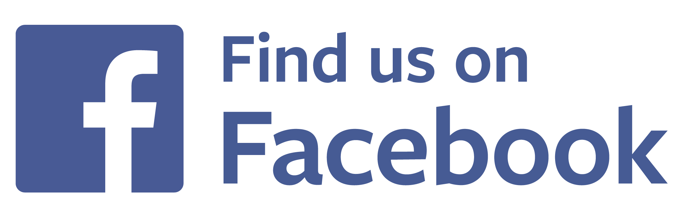2200x700 Find Us On Facebook Logo Transparent Vector Free Vector