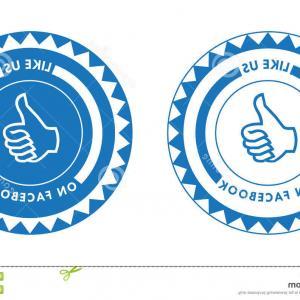 300x300 Like Us On Facebook Logo Vector Art Lazttweet