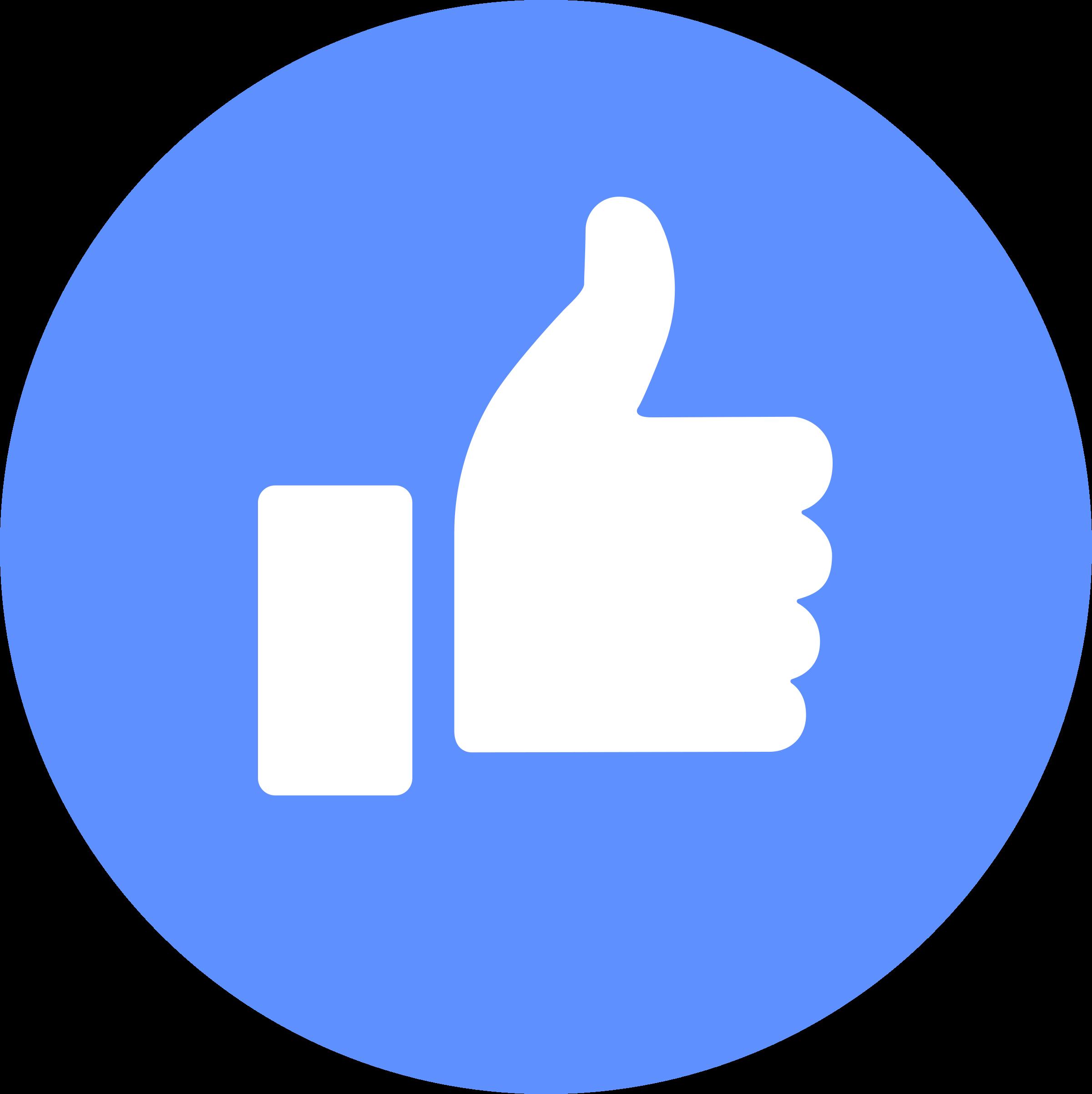 2400x2404 Facebook Like Logo Png Transparent Amp Svg Vector