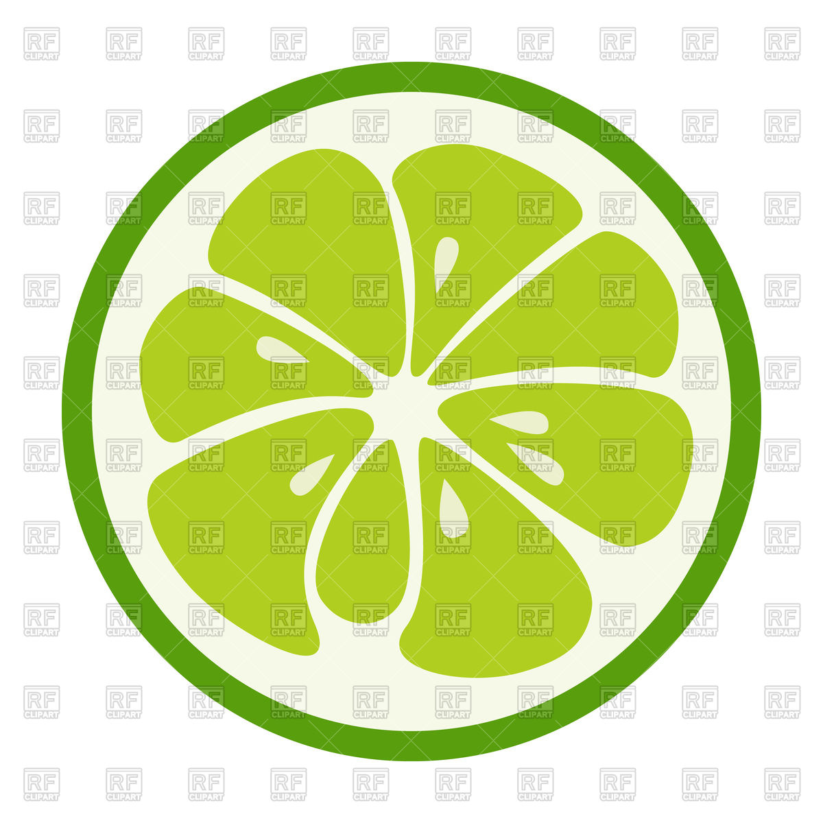 1200x1200 Green Lime Icon Vector Image Vector Artwork Of Food And