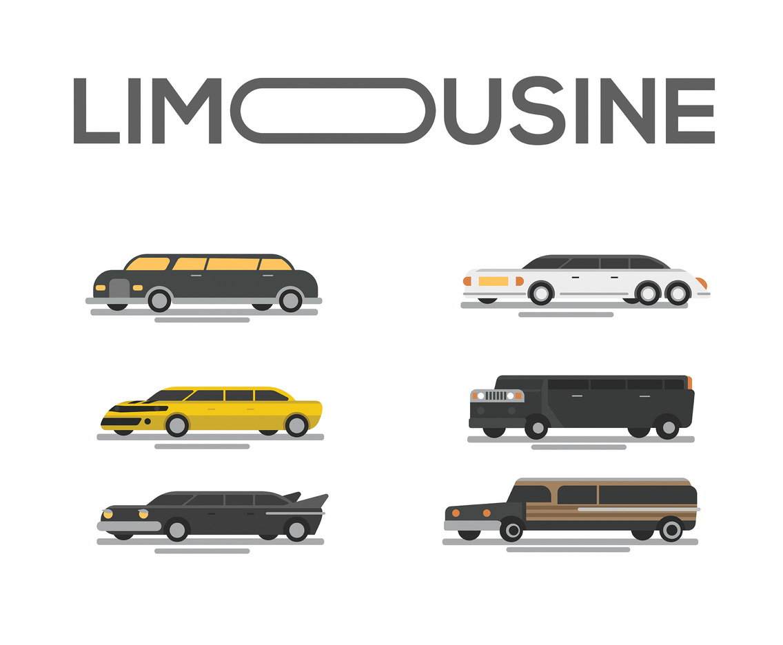 1136x936 Limousine Vector White Background Vector Art Amp Graphics