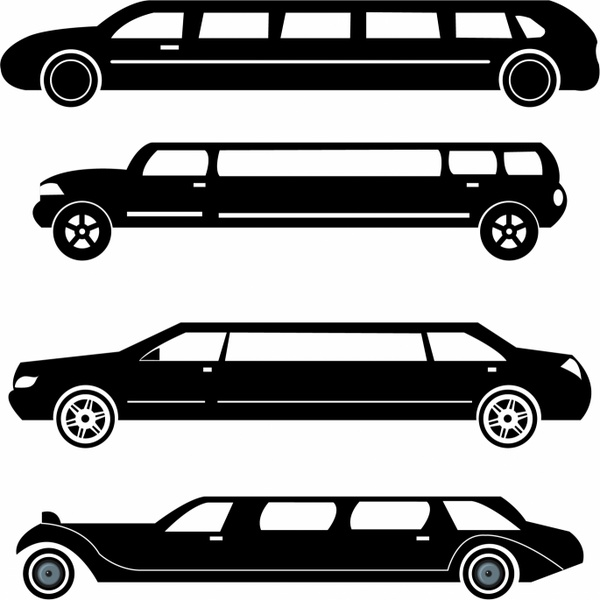 600x600 Limousine Vector Free Vector Download (11 Free Vector) For