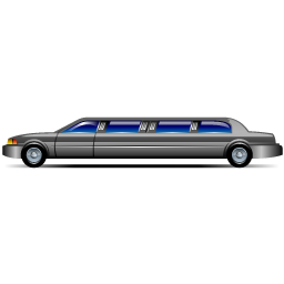 256x256 Limousine Vector ~ Frames ~ Illustrations ~ Hd Images ~ Photo