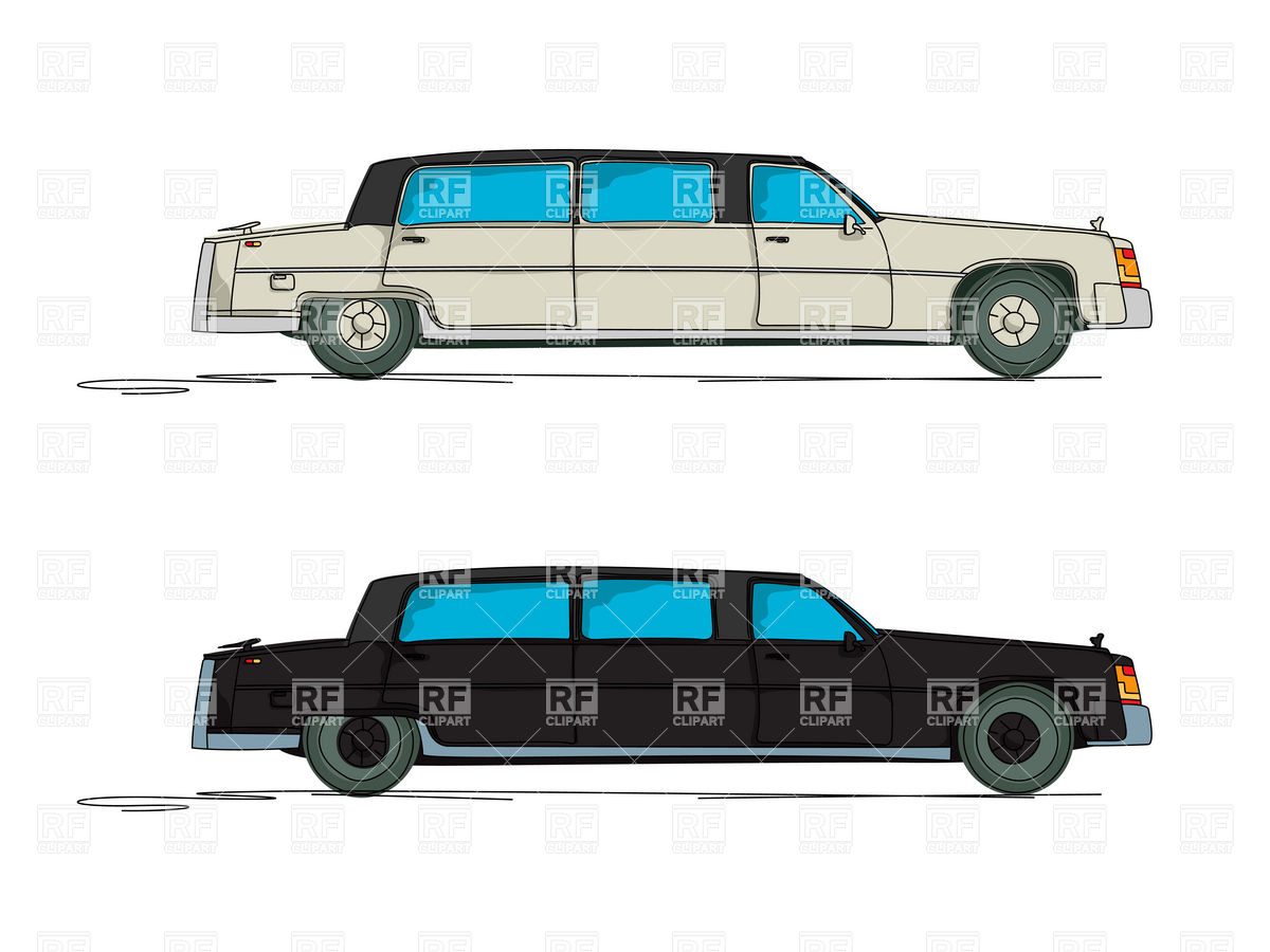 1200x900 Cartoon Stretch Limousine