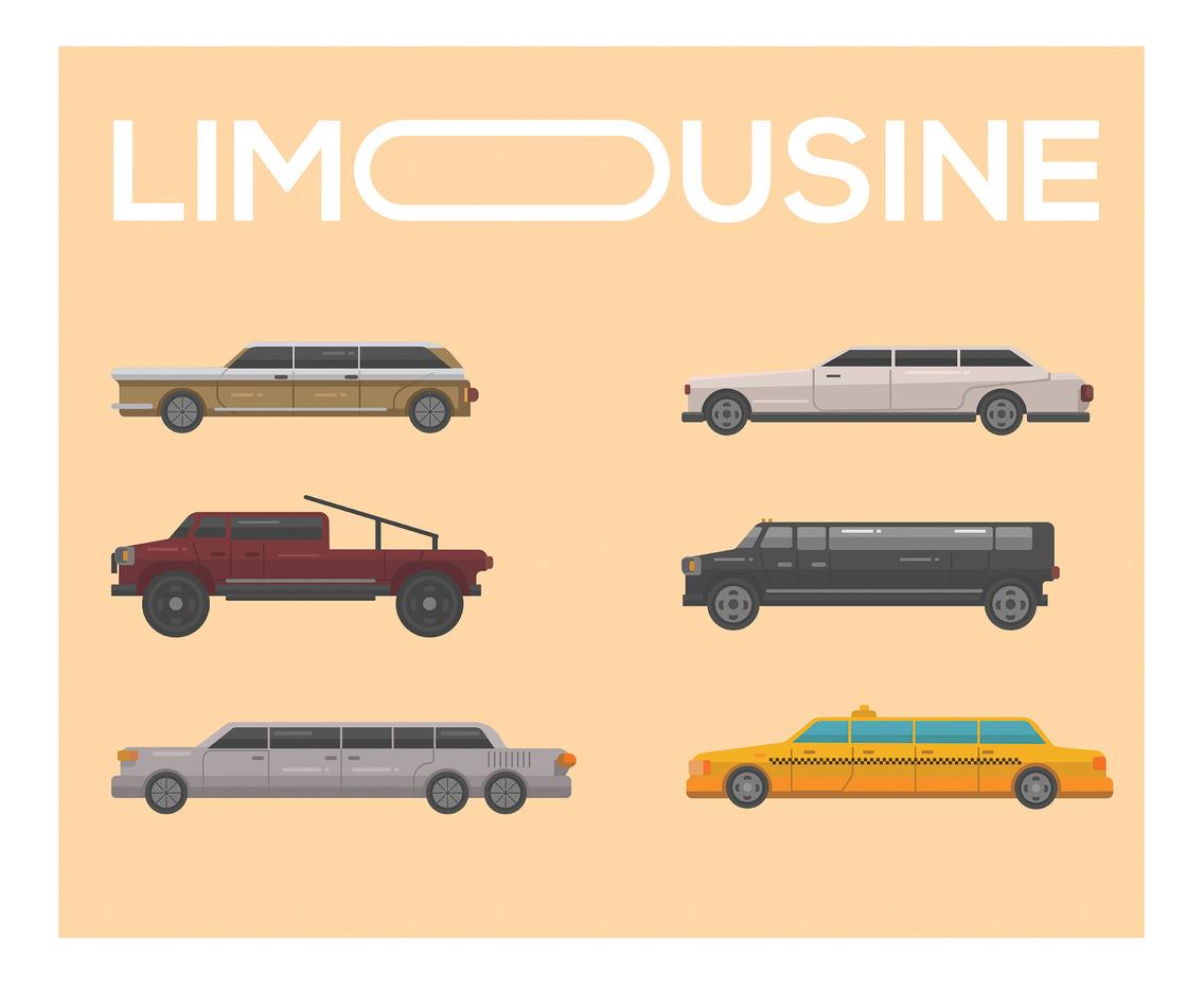 1136x936 Limousine Vector In Flat Design Vector Art Amp Graphics