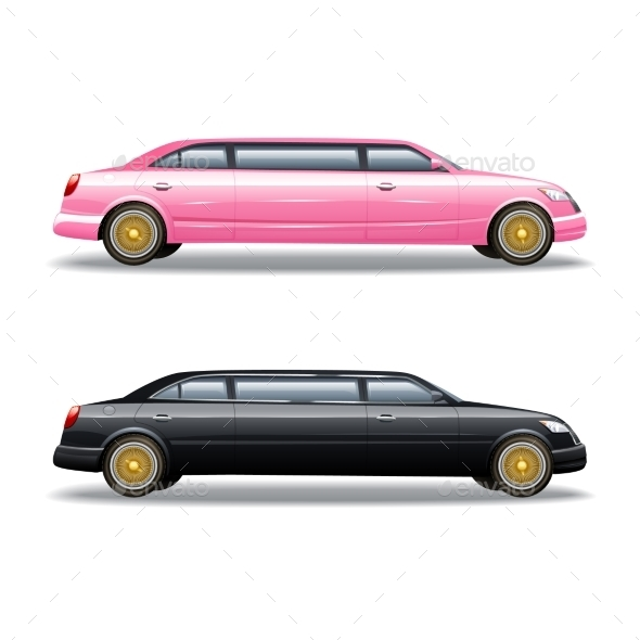 590x590 Limousine Vectors From Graphicriver