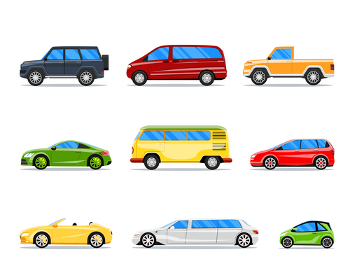 500x400 Limousine On Curated Vector Illustrations, Stock Royalty Free