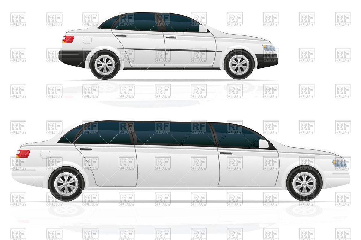 1200x800 Car Sedan And Limousine Vector Image Vector Artwork Of