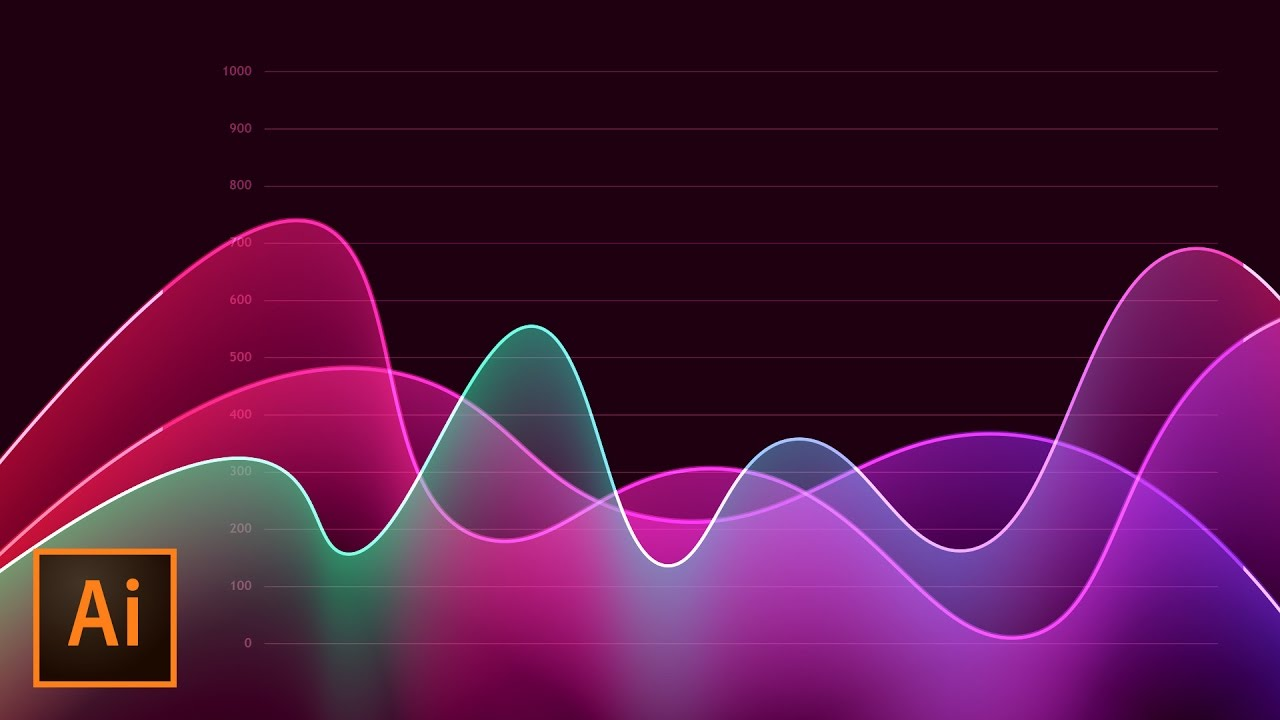 1280x720 How To Create Metrics Line Graph Analytics Vector Artwork In