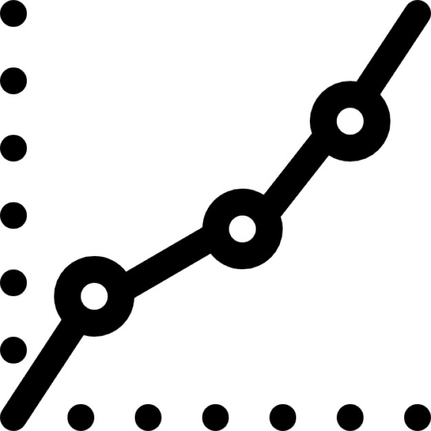 626x626 Increasing Line Graph Report Icons Free Download