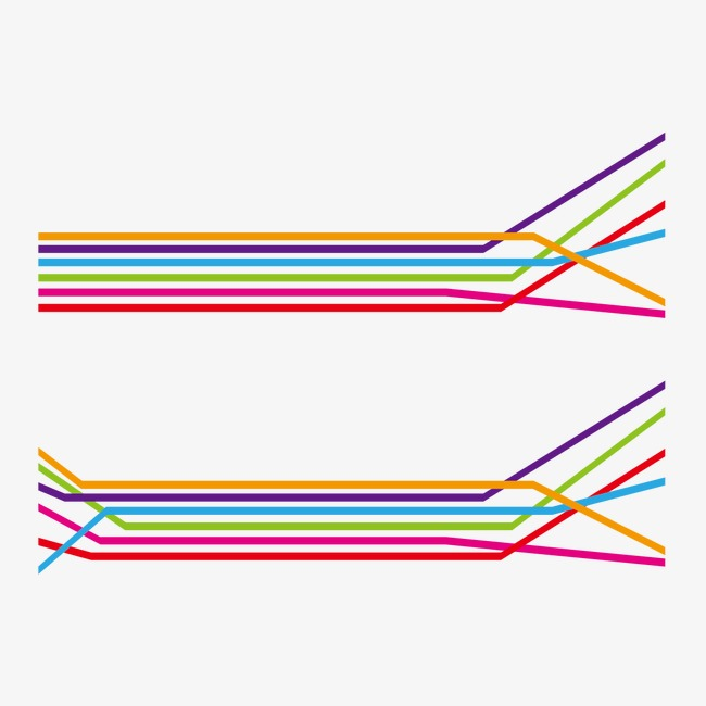 650x650 Lineas De Colores De Vectores Vectoriales De
