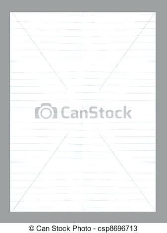 337x470 White Lined Paper Vector White Lined Paper Lined White Paper Shirt
