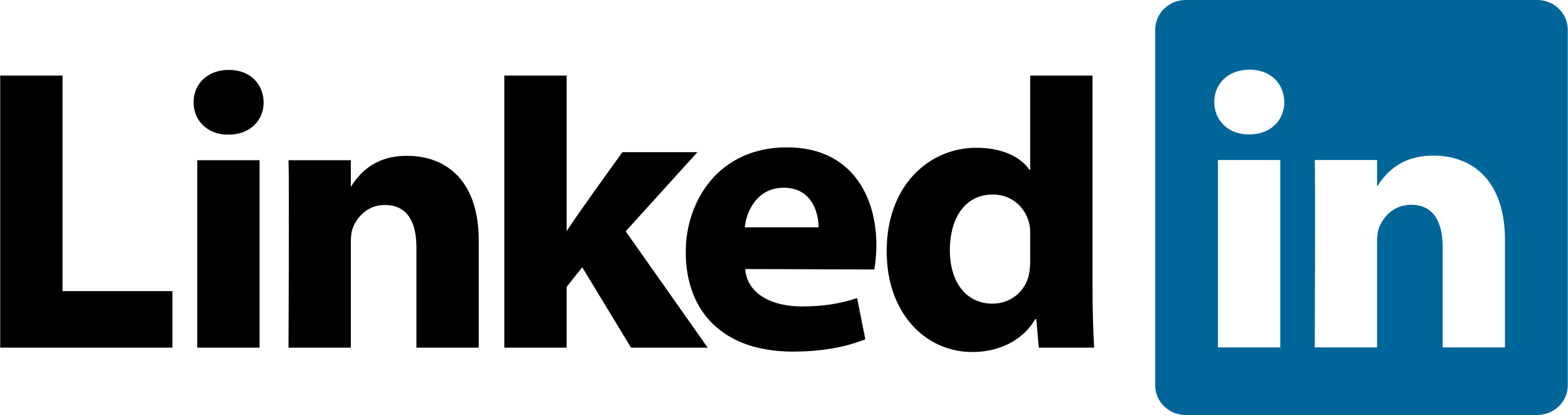 2400x636 Linkedin Logo Png Transparent Amp Svg Vector