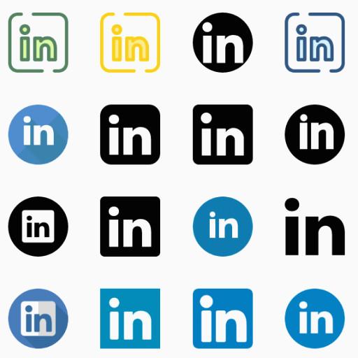 512x512 Linkedin Vector Logo Elegant Linkedin Logos Vector Eps Ai Cdr Svg