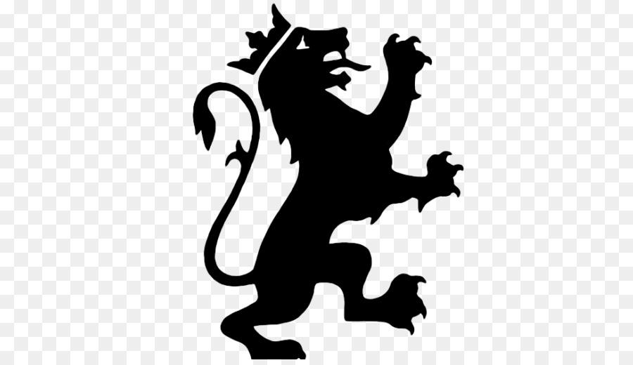 900x520 Lion Coat Of Arms Crest Symbol Clip Art