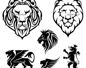 340x270 Lion Coat Of Arms Etsy