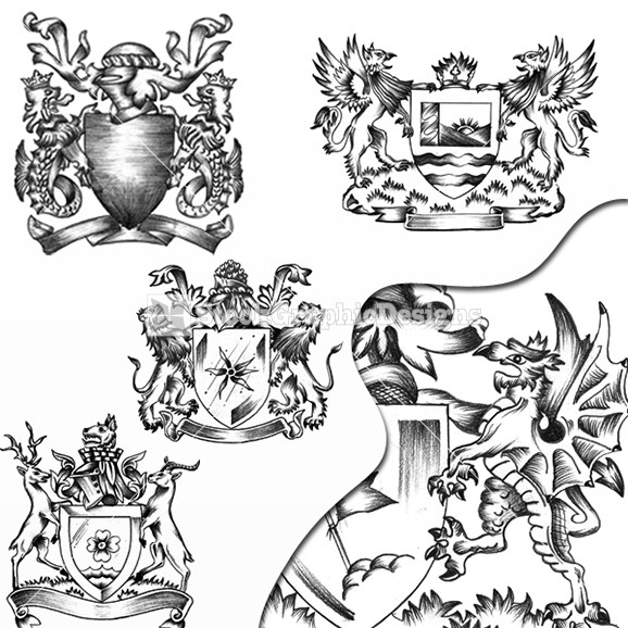 578x578 Pictures Of Lion And Dragon Coat Of Arms