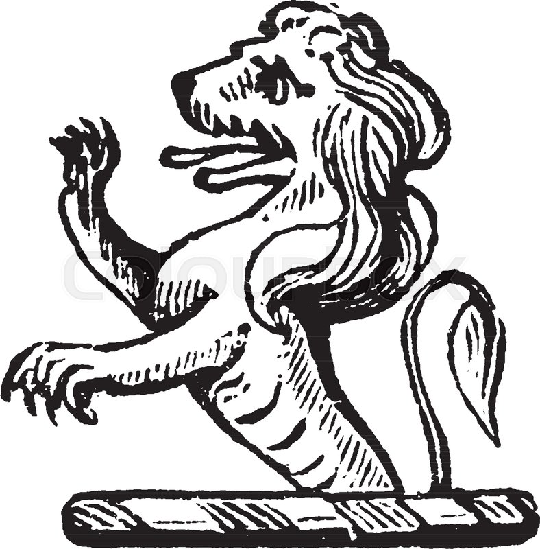 788x800 Lion Crest Is A Crown Surmounted By A Lion Statant Guardant