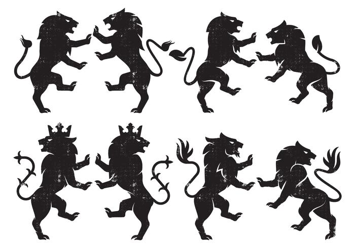 700x490 Lion Heraldry Free Vector Art