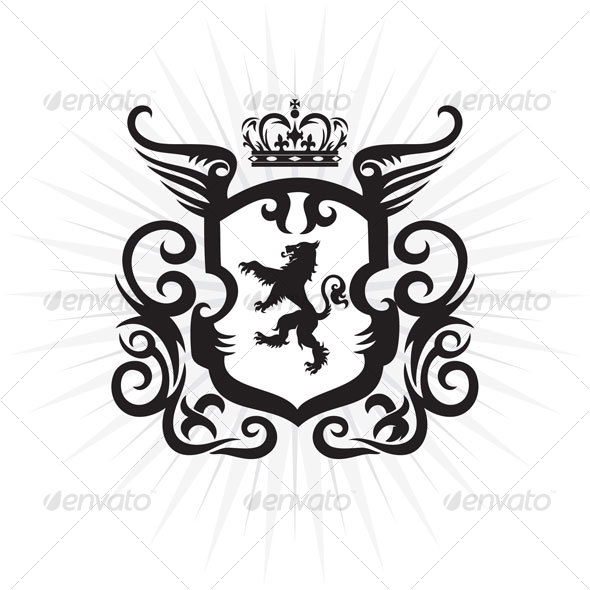590x590 Lion Crest By Namistudio Graphicriver