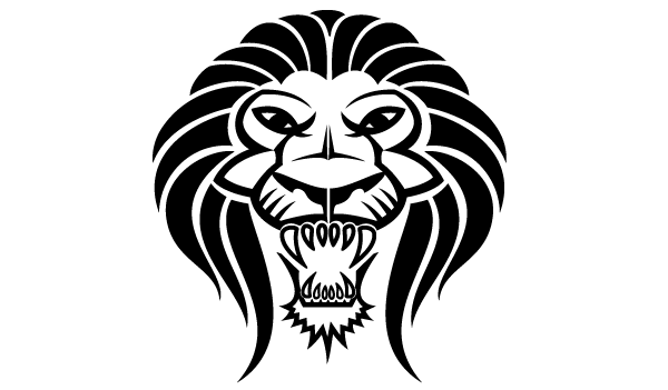 Lion Face Vector at GetDrawings com | Free for personal use Lion