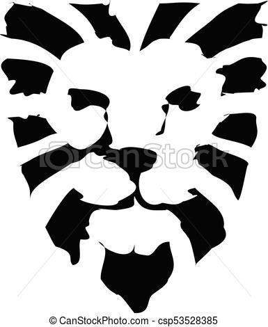385x470 Lion Head Logo Vector, Lion King Head Sign Concept, Lions Head