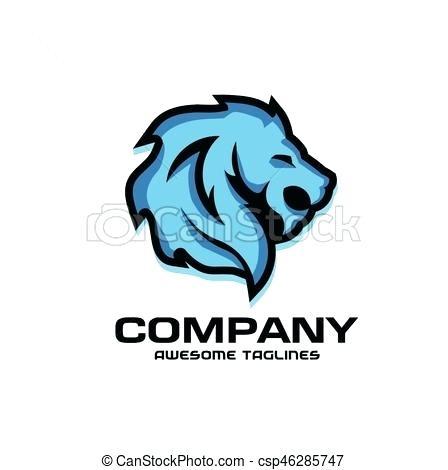 448x470 Lions Head Clip Art Lion Head Logo Vector Lion Head Clipart Png