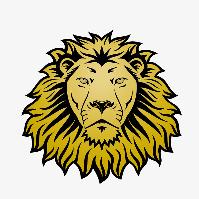 650x651 Mighty Lion Head, Lion Vector, Head Vector, Vector Png And Vector