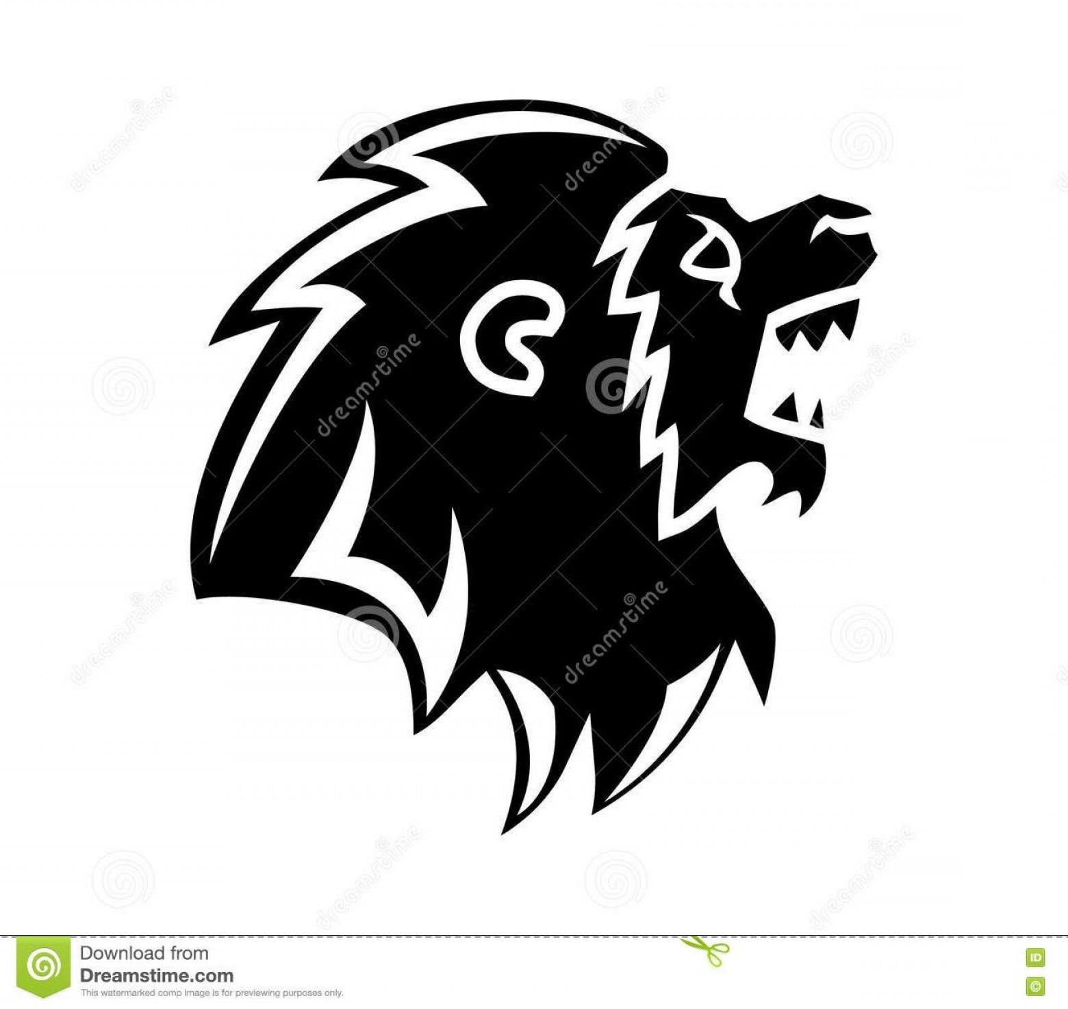1560x1473 Top Roaring Lion Head Silhouette Vector Illustration Images