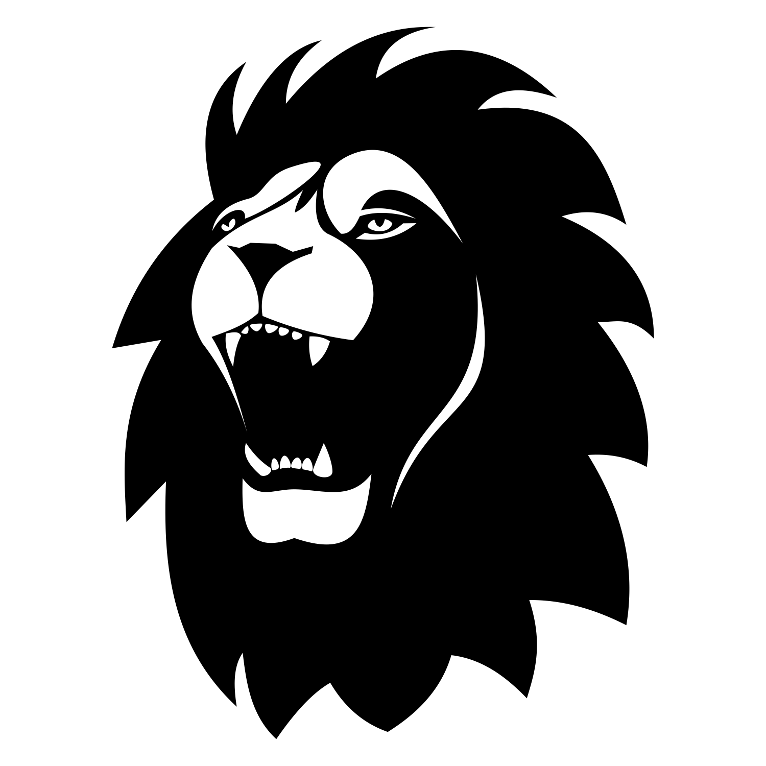 1500x1500 Vector For Free Use Lion Tattoo Vector