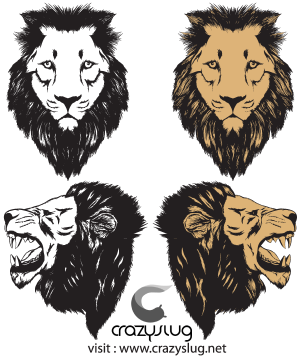 600x714 Free Roaring Lion Head Vector Free Psd Files, Vectors Amp Graphics