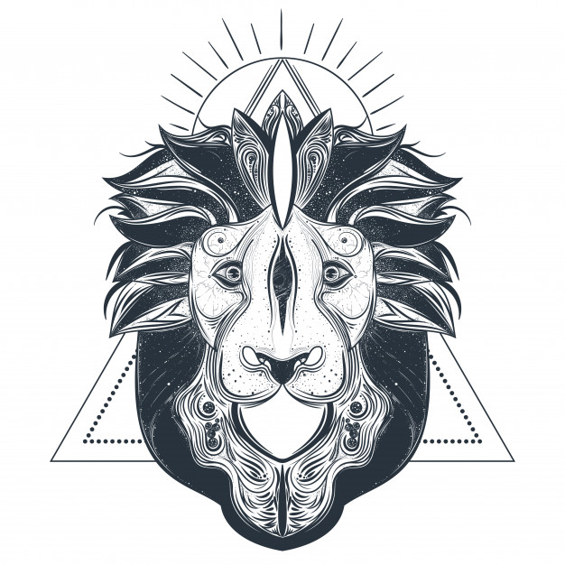 626x626 Lion Head Vector Vectors, Photos And Psd Files Free Download