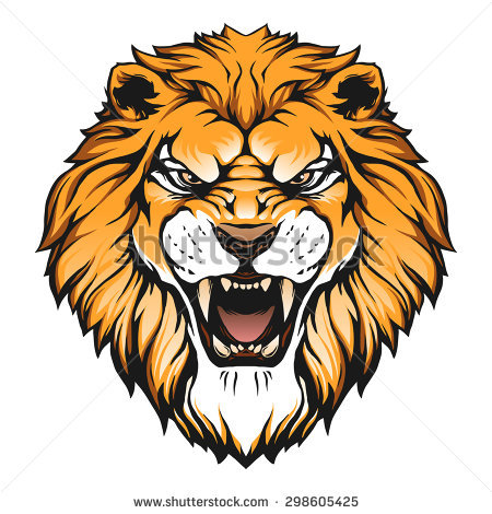 450x470 Lion Head Clipart Png Royalty Free