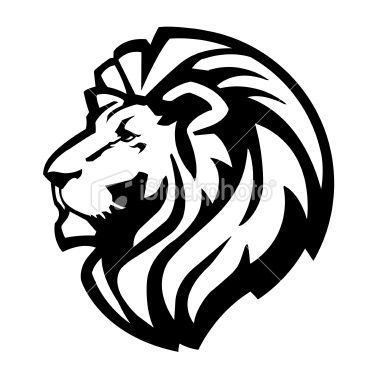 380x380 This Is A Lion Head Logo Or Icon. Works Well As A Mascot Image As