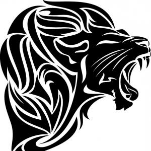 300x300 Il Give You Lion Head Vector Art Arenawp